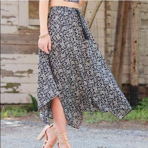 Hollister boho skirt